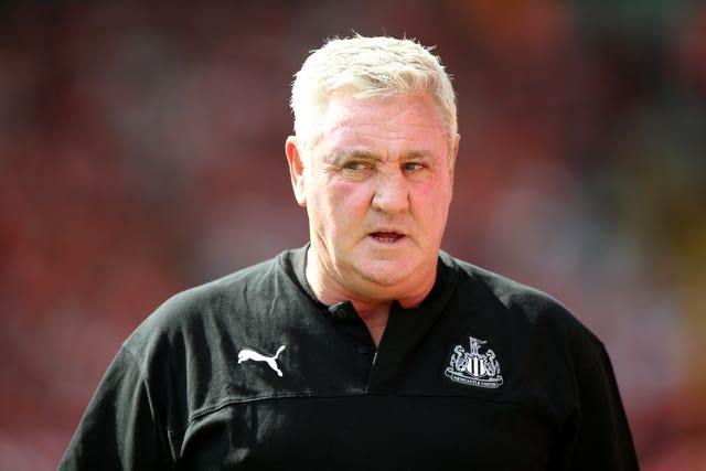 Steve Bruce has come under fire from supporters