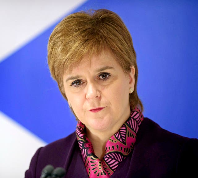 First Minister Nicola Sturgeon and Carwyn Jones are due to hold talks with the Prime Minister next week. (John Linton/PA)
