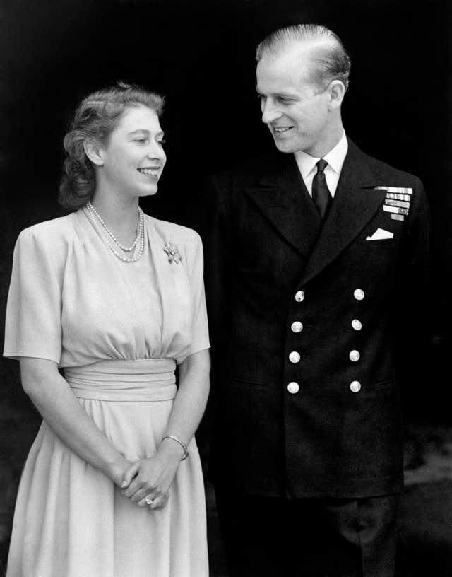 Royalty – Engagement of Princess Elizabeth and Lieut. Philip Mountbatten – London