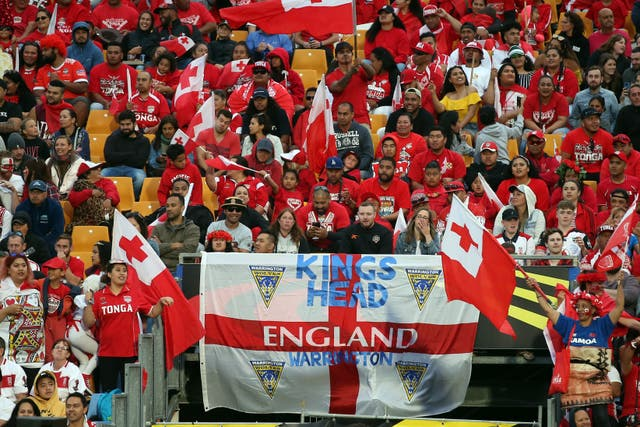 England v Tonga – Rugby League World Cup – Semi Final – Mount Smart Stadium
