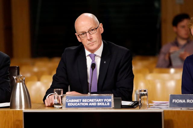 Education Secretary John Swinney
