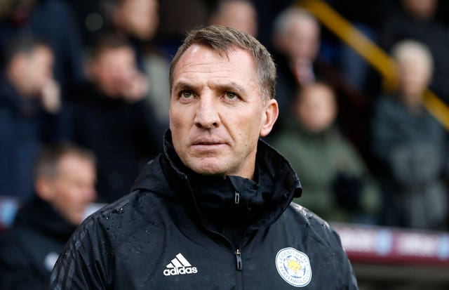 Leicester boss Brendan Rodgers has mixed feelings about finishing seventh (Martin Rickett/PA)
