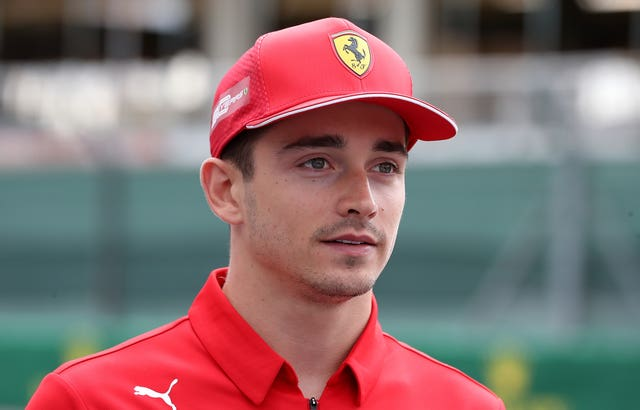 Charles Leclerc File Photo