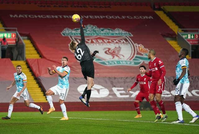 Caoimhin Kelleher has impressed in the Liverpool first team