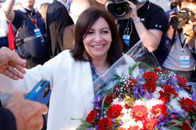 Ms Hidalgo has been mayor of Paris since 2014