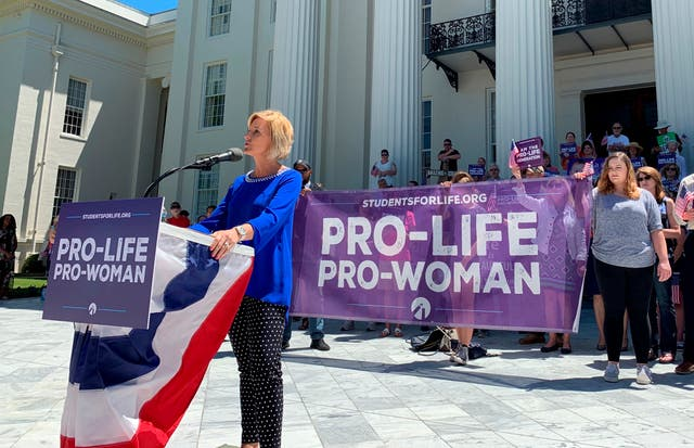 Alabama's Republican governor recently signed a law to ban most abortions, sparking protests in the state