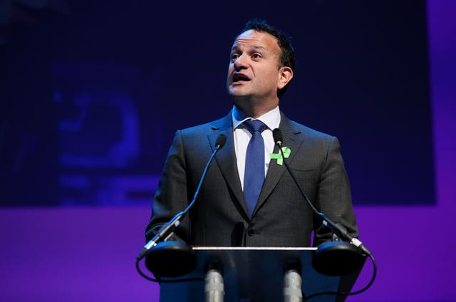 Taoiseach Leo Varadkar, who said the president of the United States would be welcome in Ireland
