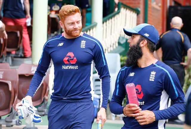 Jonny Bairstow, left, and Moeen Ali were high-profile omissions in the Test squad recently (Jason O'Brien/PA)