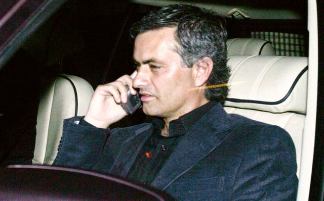 Jose Mourinho appeared at the inquiry into the tapping up allegations and was hit with an FA charge.