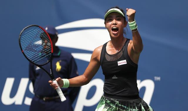 Qiang Wang secured the shock win