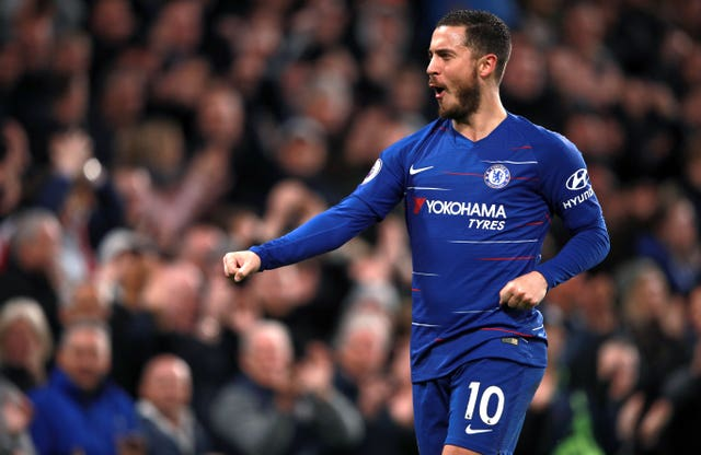 Eden Hazard has been directly involved in 28 Premier League goals this season
