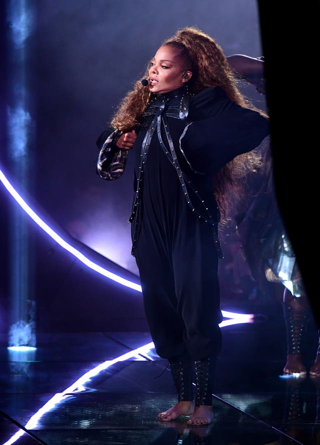 Janet Jackson at the MTV Europe Music Awards 2018 – Show – Bilbao