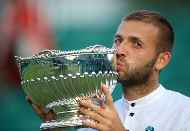 Dan Evans made it back-to-back Challenger Tour titles by winning the Nature Valley Open in Nottingham
