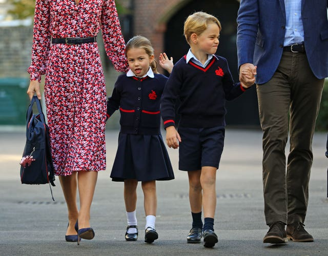 The Royal children in 2019