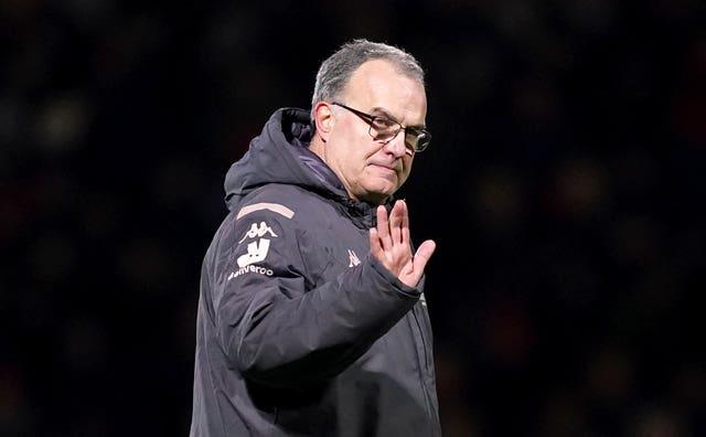 Klopp is an admirer of Leeds manager Marcelo Bielsa