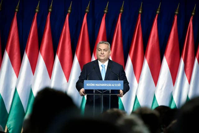 Hungary Orban State of The Country
