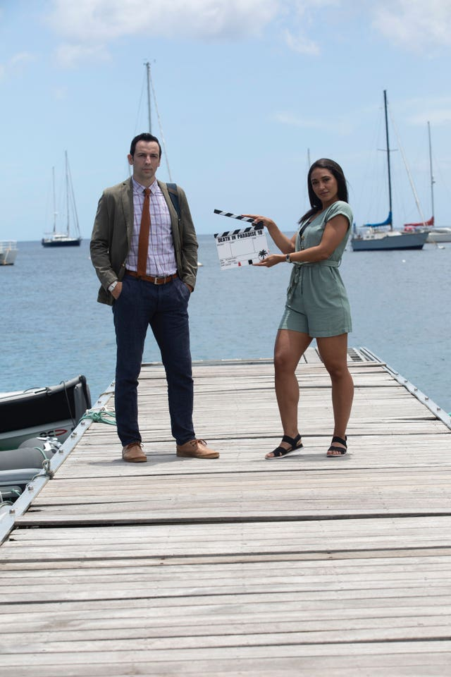 Death In Paradise starts filming again