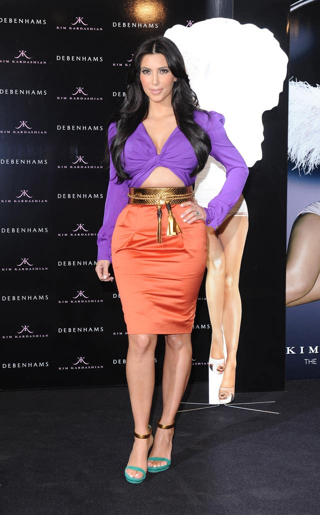 Kim Kardashian perfume launch – London