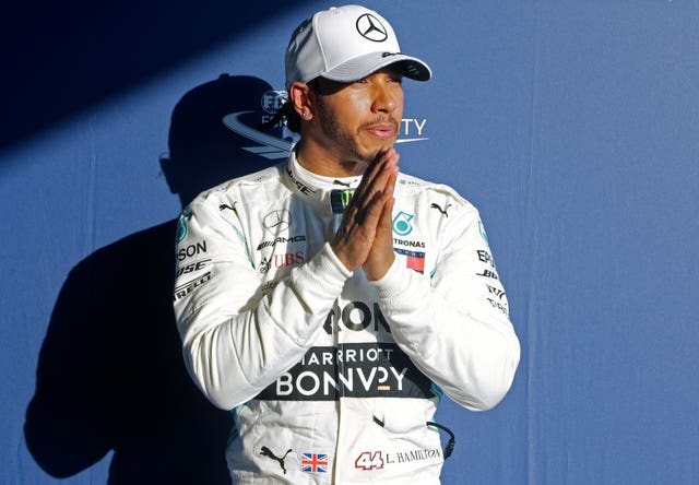 Lewis Hamilton found his pole position a bit of a surprise