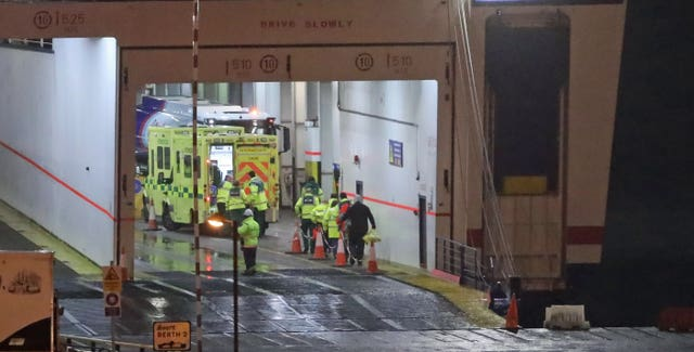 Migrants found on Rosslare ferry