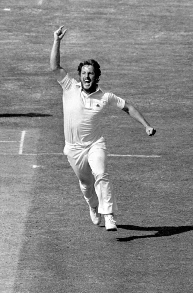 Sir Ian Botham took 383 Test wickets