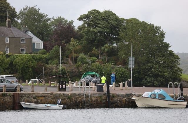 Strangford harbour incident
