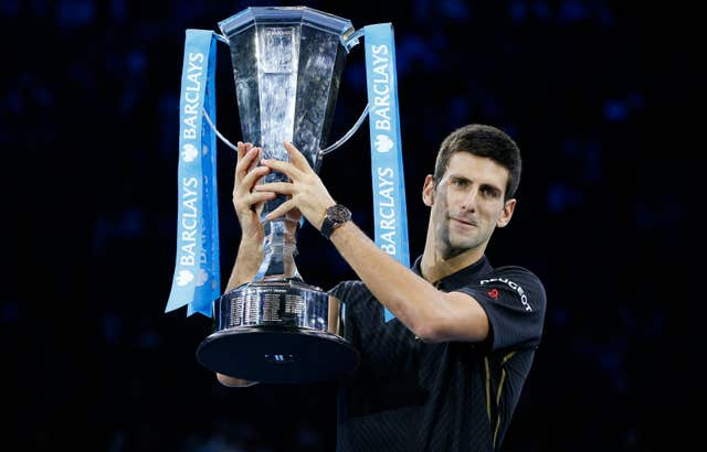 Djokovic has won the ATP Finals five times, including four at the O2