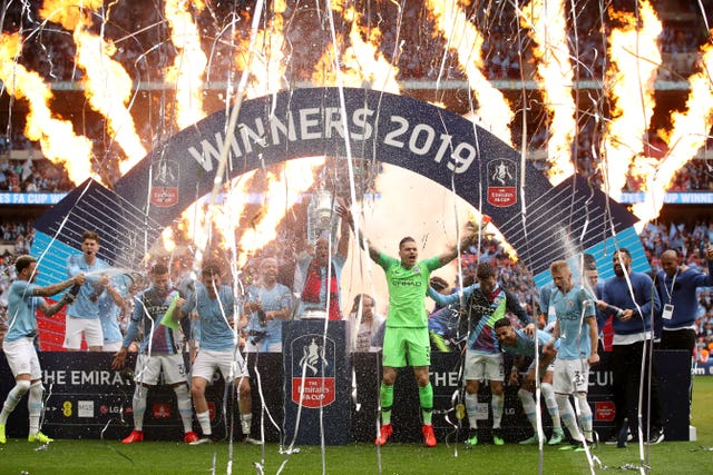 Manchester City had a clean sweep of domestic trophies in 2019