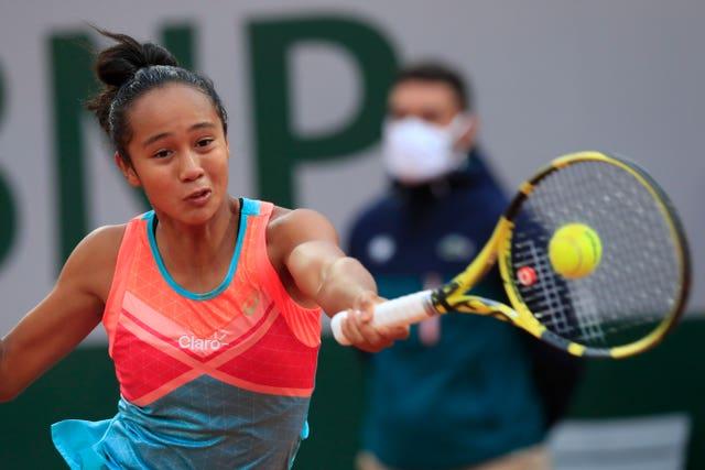 Leylah Fernandez gave notice of her potential against Petra Kvitova