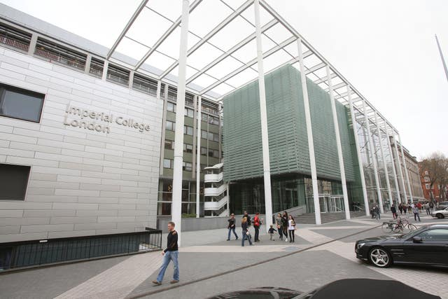 Imperial College London, which featured in the top 10
