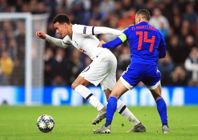 Tottenham Hotspur v Olympiakos - UEFA Champions League - Group B - Tottenham Hotspur Stadium