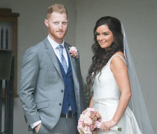 Ben Stokes paid tribute to his wife Clare