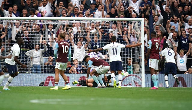Tottenham came from behind to beat Aston Villa in their opening game of the season