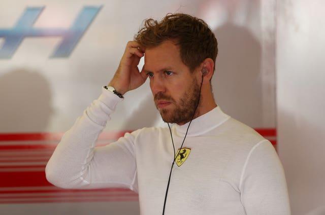 Sebastian Vettel's time at Ferrari will come to an end following the 2020 season (David Davies/PA)