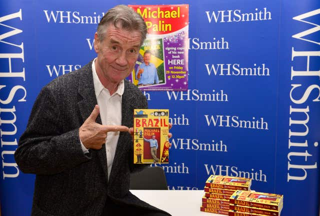 Michael Palin book signing – Nottingham