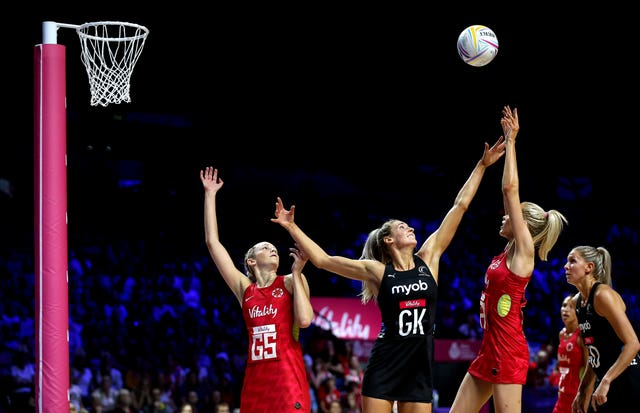 Housby and her team-mates found New Zealand hard to break