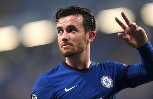 Chelsea defender Ben Chilwell is another conteder for starting at left-back for England.