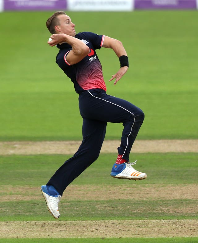 Tom Curran has got his eyes on the 2019 World Cup.