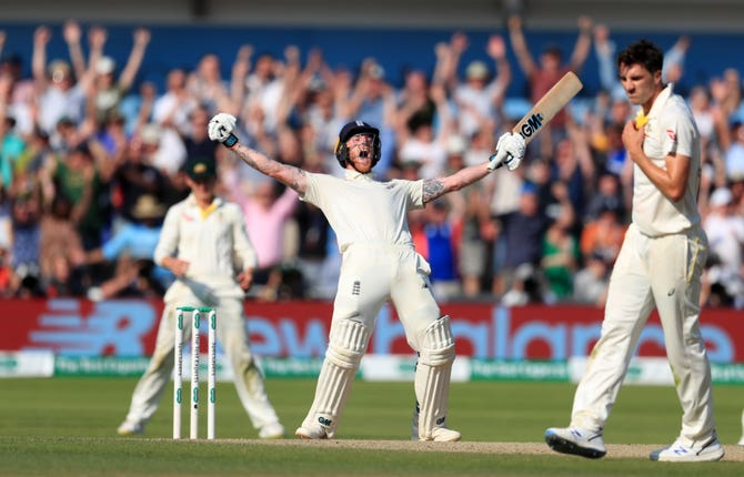 Australia looked certain to seal an Ashes-retaining win at Headingley before Stokes' heroics