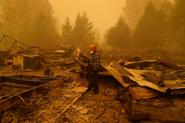 Pacific Northwest Wildfires