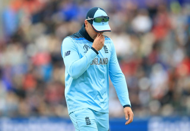 Jason Roy picked up the injury against the West Indies