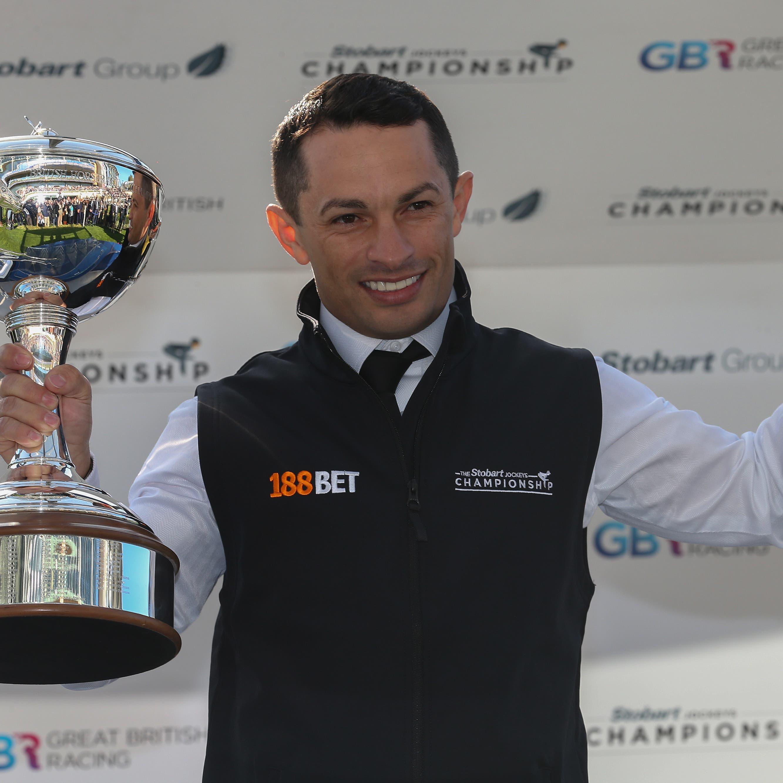 Silvestre De Sousa was crowned British champion again this season