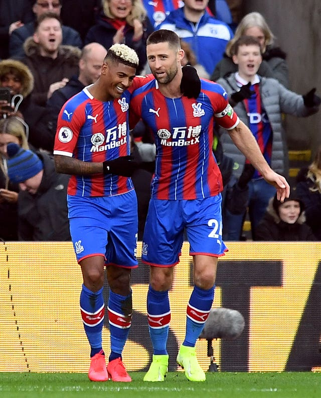 Patrick Van Aanholt, left, made the difference against Newcastle