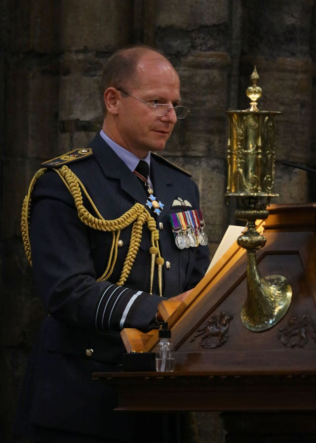 Air Chief Marshal Mike Wigston