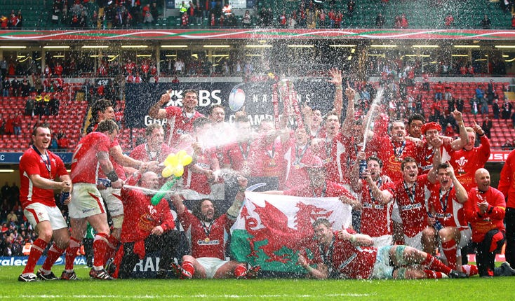 Wales won the Six Nations title on their last visit to Cardiff
