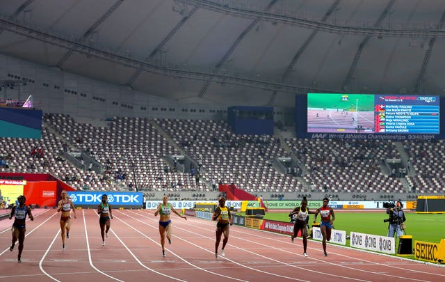 The sparse crowds have been one of the talking points of the World Championships so far