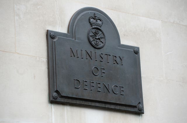 Ministry of Defence lawyers said the soldier's military career would come to an end soon (Kirsty O'Connor/PA)