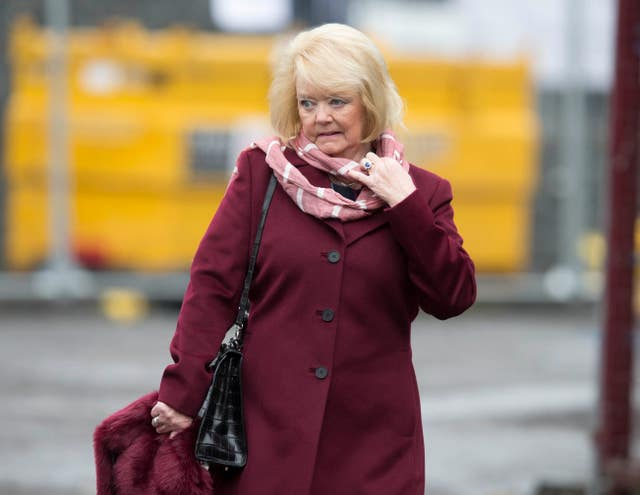 Hearts owner Ann Budge has asked all staf to take a 50 per cent wage cut