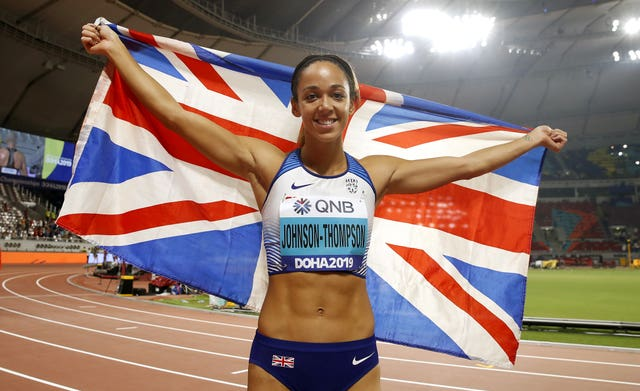Katarina Johnson-Thompson has won a world championship