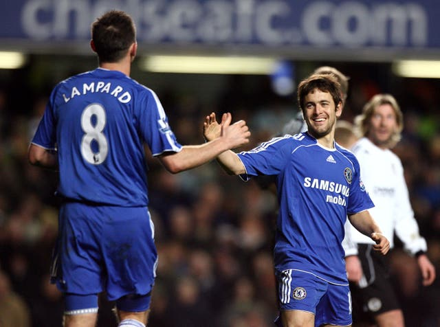 Joe Cole (right) was team-mates with Chelsea boss Frank Lampard (left) for club and country (Nick Potts/PA).